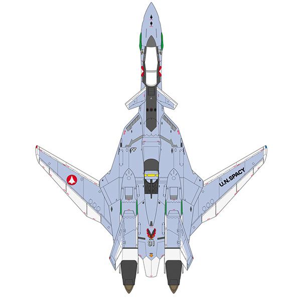 1/48 마크로스 VF-X2 - VF-19A VF-X 레이븐즈 파이터 모드 [8월발매/9~10월입고예정]