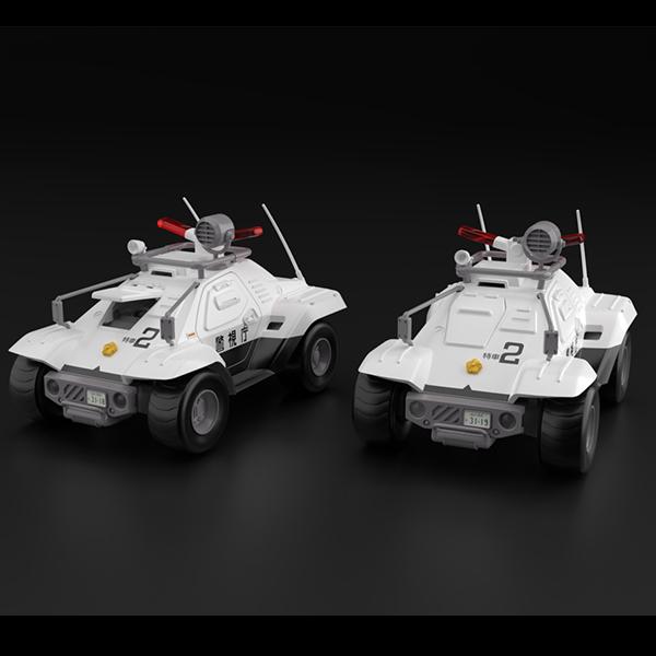 1/43 ACKS MP-02 기동경찰 패트레이버 - 43 98식 특형 지휘차 2체 세트 [10월발매/11월입고예정] [4905083063064]