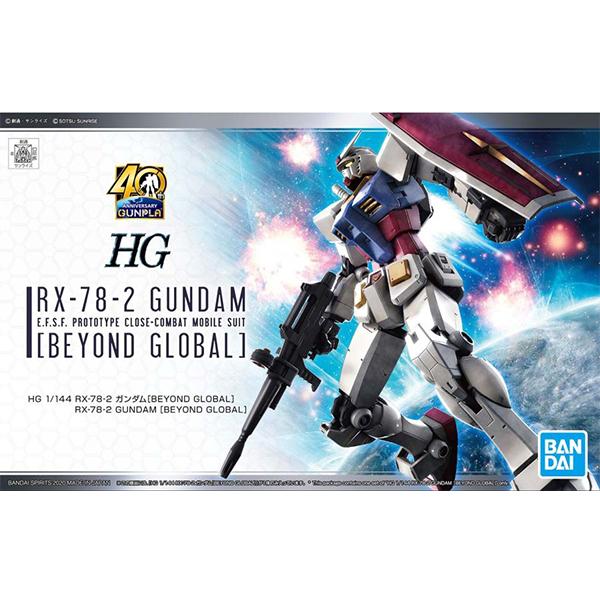 [HG] 1/144 RX-78-2 퍼스트 건담 [BEYOND GLOBAL] [3월입고완료] [4573102582058]