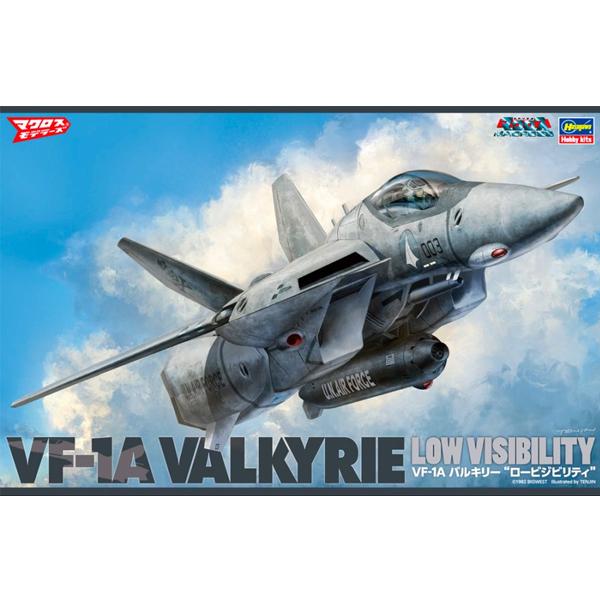 1/48 초시공요새 마크로스 - VF-1A 발키리 로우 비지빌리티 파이터 모드 [6월입고완료] [4967834658714]