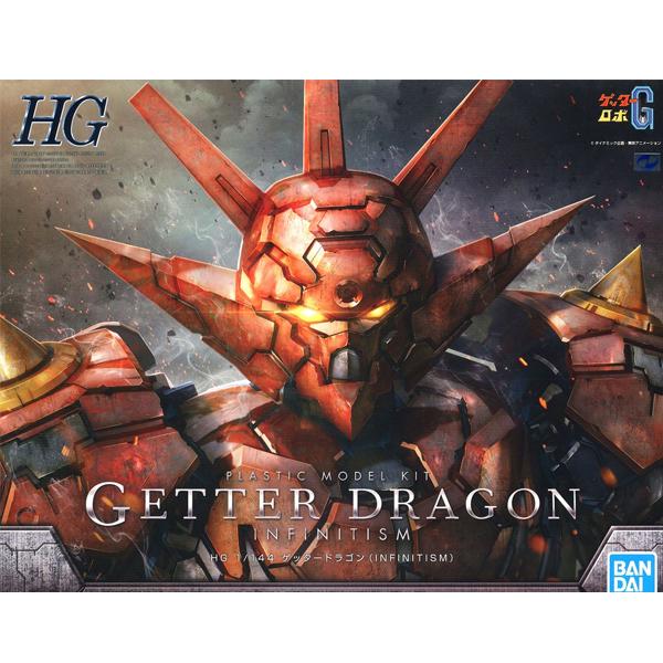 [HG] 1/144 겟타 드래곤(인피니티즘) [4월입고완료] [4573102604309]