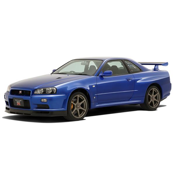 1/32 더 스냅킷 No.11-C 닛산 R34 스카이라인 GT-R(베이사이드블루) [8월발매/9월입고예정] [4905083062500]