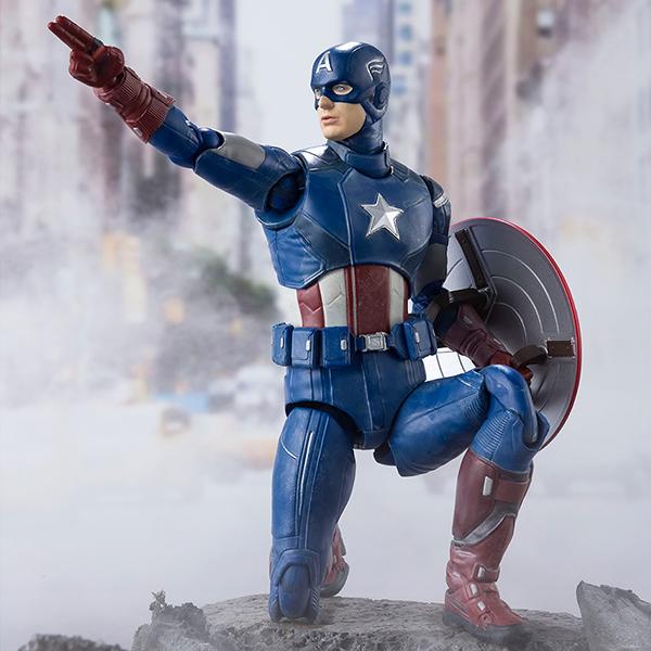 [S.H.Figuarts] 어벤져스 - 캡틴 아메리카 어벤져스 어셈블 에디션 [21년5월입고예정] [4573102612847]