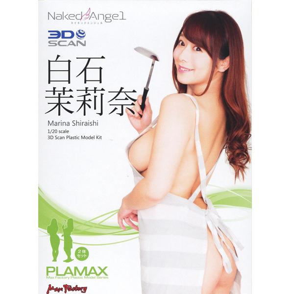 PLAMAX Naked Angel 1/20 시라이시 마리나 [4월입고완료] [4545784012307]