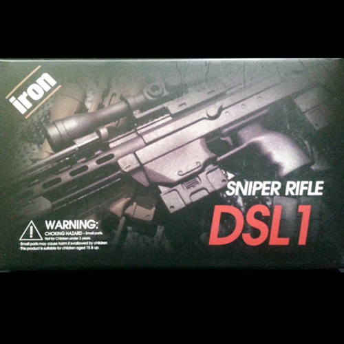 Wild Work 1/6 스나이퍼 라이플 DSL1(블랙) [4월입고완료]