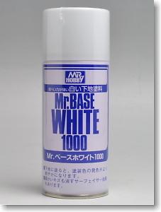 [B518] Mr. 베이스 화이트 1000 (캔) [4973028515961]